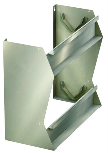 Folienspender aus Edelstahl Spender für Alu-//Frischhaltefolie Rollenbreite 450mm