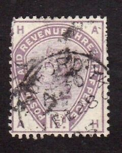 Great-Britain-stamp-99-used-Queen-Victoria-1883-1884-SCV-42-50