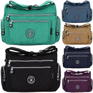 Ladies-Messenger-Cross-Body-Bag-Women-Shoulder-Over-Holiday-Travel-Bag-Handbag