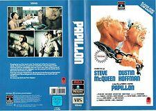 (VHS) Papillon - Steve McQueen, Dustin Hoffman, Robert DRatna Assan, Victor Jory