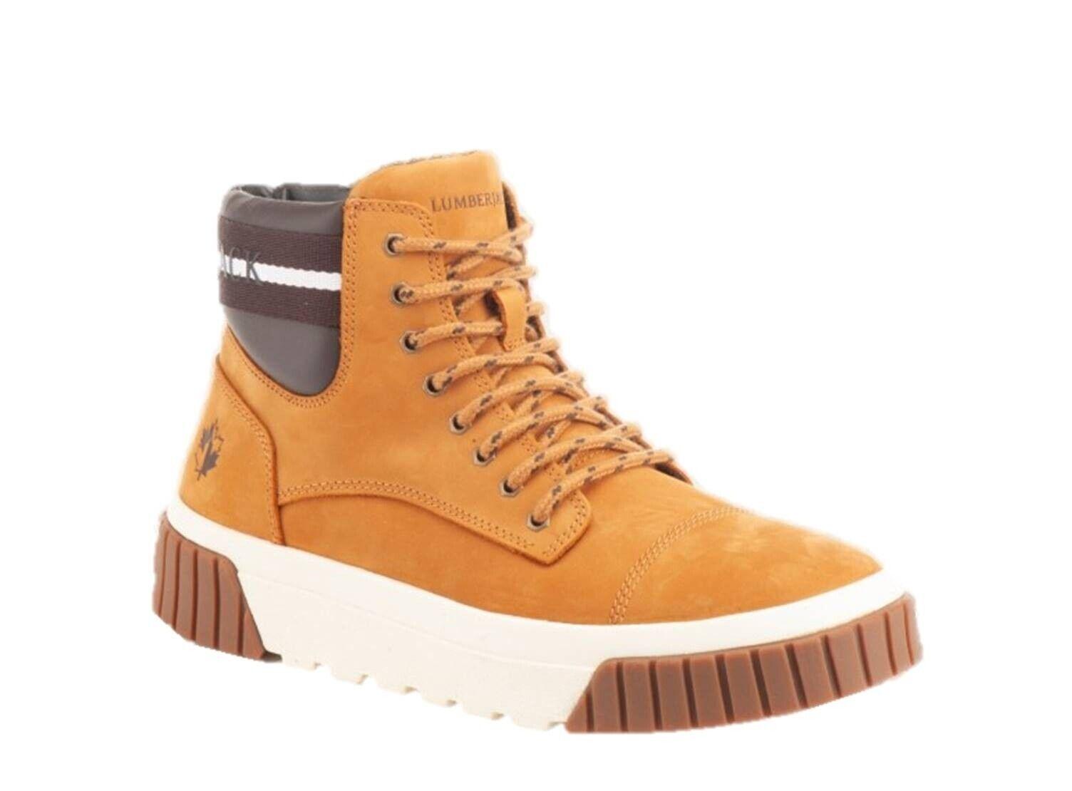 Lumberjack Moskow SM65912 Stiefel Stiefeletten Desert Stiefel Hohe Schuhe Leder