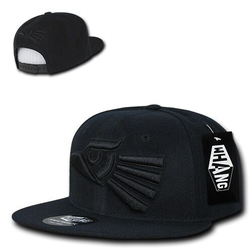 Black Mexican Hecho En Mexico Eagle Aguila Embroided Flat Snapback Snap Hat  Cap 4a8801894f4