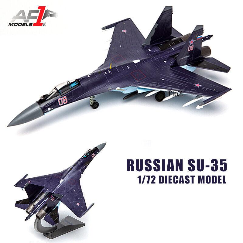 AF1 RUSSIAN SU-35 1 72 diecast  plane model aircraft