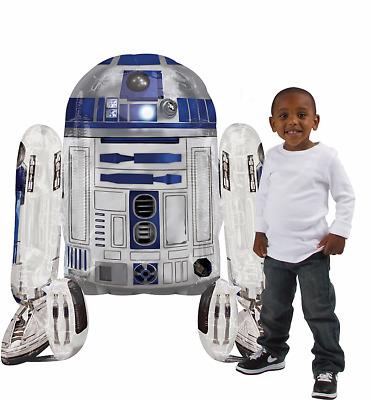 Star Wars R2-D2 Shaped Giant Airwalker Foil Balloon