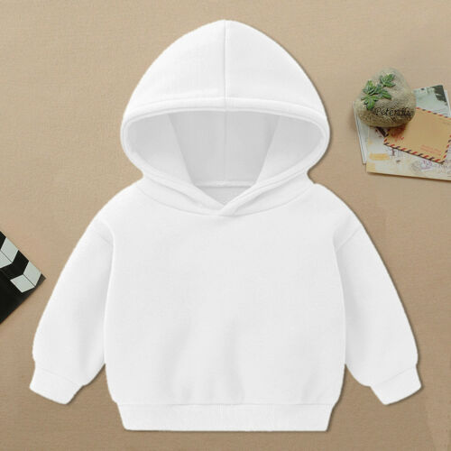 Toddler Baby Kids  Boys Girls Cartoon Print  Full Sleeves Hoodie Tops Clothing