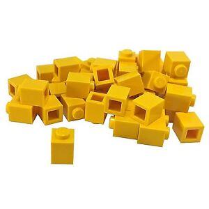 BRAND NEW-3005-1 x 1 BRICK-TAN//BRICK YELLOW-50 PIECES LEGO
