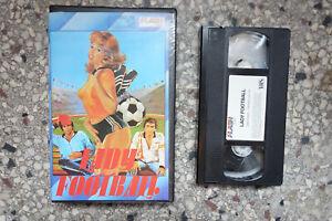 LADY FOOTBALL NL VHS rare Dutch FLASH Video Italo FRANCESCA COLUZZI