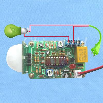 Human Sensor Module Pyroelectric Infrared PIR DIY Kit PYM-1