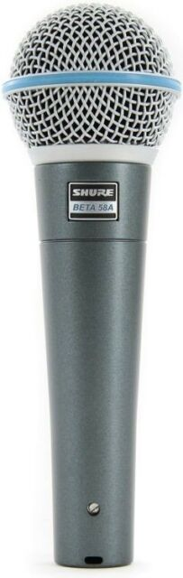 Shure Beta 58A Handheld Dynamic Vocal Microphone - ABSOLUTELY FANTASTIC MIC!
