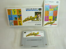 NICE DE SHOT Item Ref/bcc Super Famicom Nintendo Japan Boxed Game sf