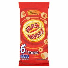 Hula Hoops Original Snacks 6 x 24g - Sold Worldwide from UK