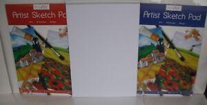 2 X Large A3 dessin de 80gsm 30 Feuilles Blanc Cartidge Papier à dessin ARTISTE SET-afficher le titre d`origine