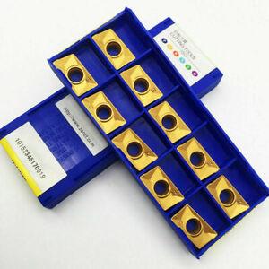 50pcs  ZCC.CT APKT160408-PM YBM351 Carbide Inserts CNC milling inserts APKT1604