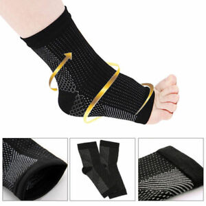 Foot-Compression-Plantar-Fasciitis-Heel-Arch-Support-Pads-Socks-Feet-Pain-Relief