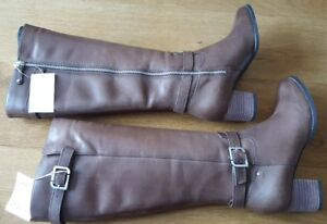 Rockport Size Gerti 5 Welt Boots Brown 7q6O7