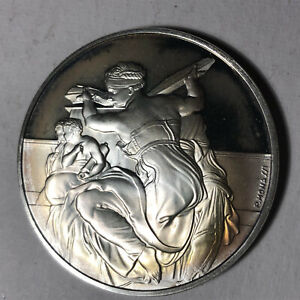 The-Libyan-Sibyl-The-Genius-of-Michelangelo-1-26oz-Sterling-Silver-Medal