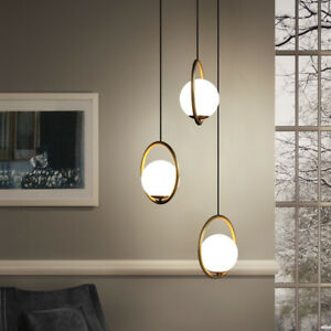 Kitchen Lamp Bedroom Pendant Light Bar Glass Pendant Lighting Home