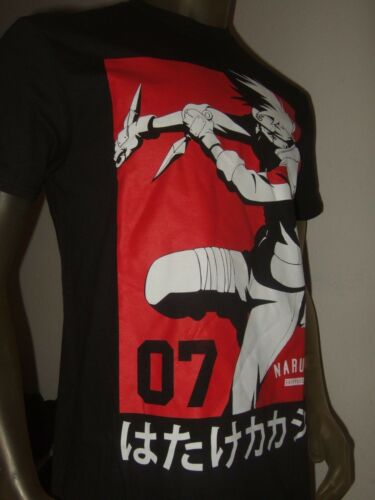 Men/'s Naruto 07 Naruto Naruto Shippuden Shonen Jump Japonais Kanji Anime Shirt