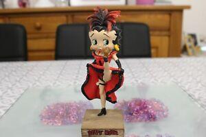 sauveteur en mer BB15 figurine Betty boop resine en blister MIB 15 cm environ