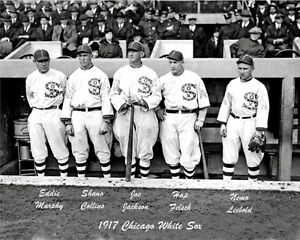 1917-White-Sox-8X10-Photo-Jackson-Felsch-Collins-B-amp-W-Buy-Any-2-Get-1-FREE