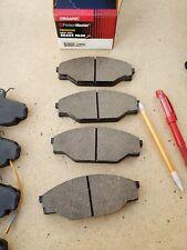 PREMIUM Semi-metallic Front Disc Brake Pads For 85-89 Merkur XR4Ti