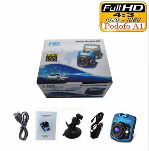 Podofo A1 Mini Car DVR Camera Dashcam Full HD 1080P Video Registrator Recorder