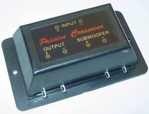 passive 2 3 wege subwooferweiche frequenzweiche 50 watt. Black Bedroom Furniture Sets. Home Design Ideas