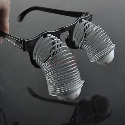 Mini Glasses Horror Terror Spring Pop Out Eye Kids Dangling Eyeballs Prank Toy