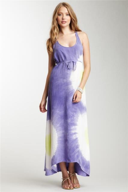 C C California Purple Multi Tie Dye Maxi Dress Size Medium For Sale Online Ebay