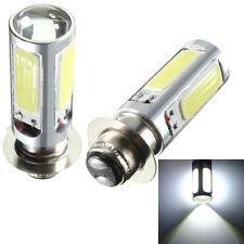 2x PX15d H6M COB LED Car Fog Head Light Lamp Motor Bike Indicator Bulb 10W 12V