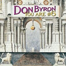 DON BYRON - You Are #6 - CD ** Brand New **