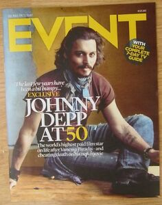 Johnny Depp at 50  Event magazine  7 July 2013 - <span itemprop=availableAtOrFrom>Northolt, Middlesex, United Kingdom</span> - Johnny Depp at 50  Event magazine  7 July 2013 - Northolt, Middlesex, United Kingdom