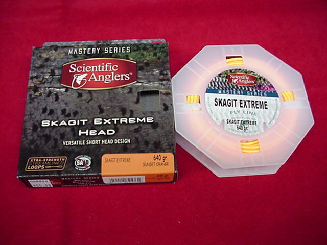 Scientific Anglers Fly Line Skagit Extreme Head 640 Gr 25 Ft GREAT NEW