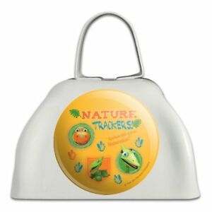 Dinosaur Train Nature Trackers Buddy Tiny White Cowbell Cow Bell Instrument-afficher Le Titre D'origine