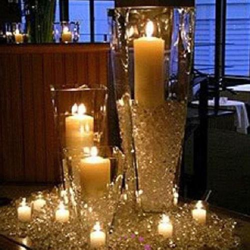 1000PCS 4.5mm DIY Wedding Party Festival Decorations Clear Acrylic Crystals