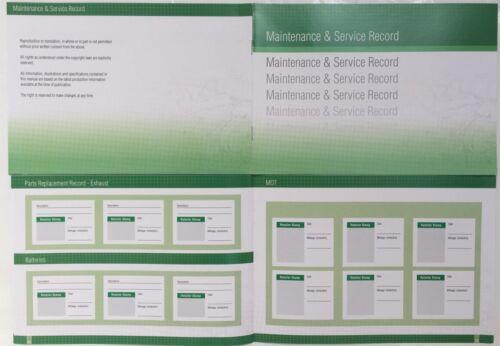Volvo Generic Replacement Car Service History Book New Handbook Blank G