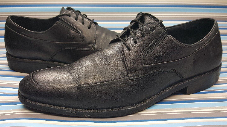 Bruno Magli Zenone Oxfords Black Leather Dress Mens shoes 9 M