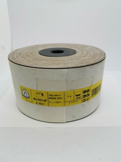 Klingspor KL 361 JF Sanding Roll 25 x 50000 mm 120 Grit