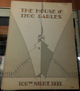 1935-The-House-of-1200-Gables-Frederick-C-Mayer-Theater-Program-Vintage