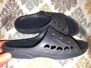 0067d692e170 CROCS Baya Slide Sandals Women s 9 ~ Men s 7 NAVY Unisex Comfort