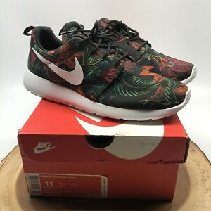 first rate 6ff3c 6786a Image is loading Nike-Rosherun-Print-Floral-Total-Orange-655206-810-