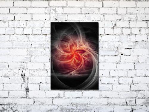 Premium générons ag5705001016 DECO 50 x 70 cm feu abstrait red