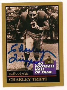 1991-Enor-Auto-Hall-of-Famer-Charley-Trippi-Chicago-Cardinals