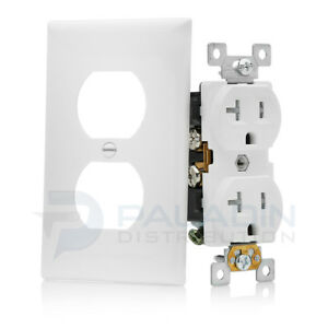 20a Tamper Resistant Child Safe Outlet W Wall Plate Ul