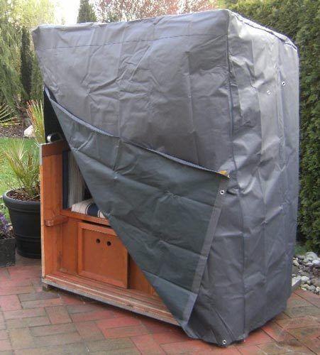 XXL Komfort Schutzhaube Strandkorb Abdeckung Schutzhülle Oxford Polyester 420D