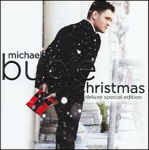 MICHAEL-BUBLE-CHRISTMAS-DELUXE-SPECIAL-EDITION-CD-with-4-BONUS-Trax-NEW