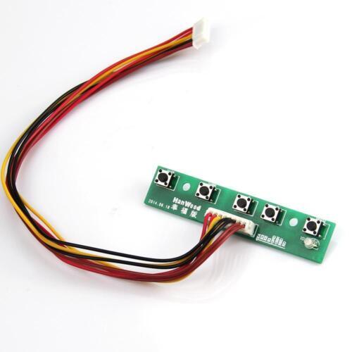 HDMI+DVI+VGA LCD LED Controller Board kit for B141EW05 V4 1280X800 panel MONITOR