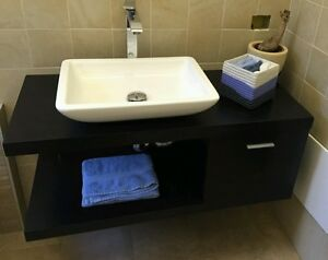 Mobile bagno  aris  con sportello naturale bianco wenge. tortora