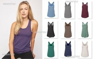 55247af0fa1a78 Image is loading American-Apparel-Womens-Triblend-Racerback-Tank-Top-Ladies-