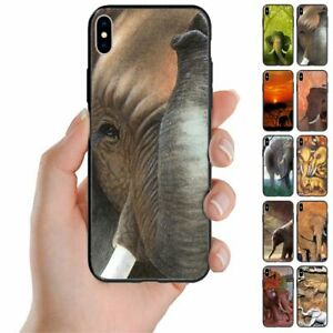 For Samsung Galaxy Note Series Elephant Theme Print Back Case Mobile Phone Cover